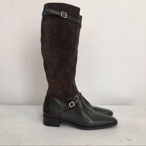 NWOT Colin Stuart Tall Riding Boots